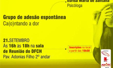 SETEMBRO AMARELO: ATIVIDADE DE APOIO E CONSCIENTIZAÇÃO CONTINUA NESTA SEXTA-FEIRA (21)