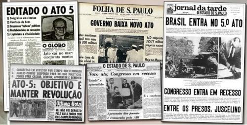 Há 50 anos a ditadura instituía o AI5: o aprofundamento do golpe