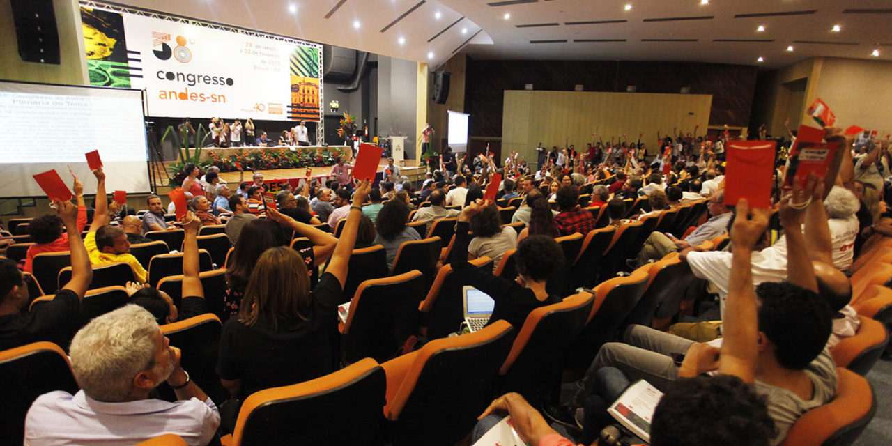38º Congresso do ANDES-SN aprova centralidade da luta