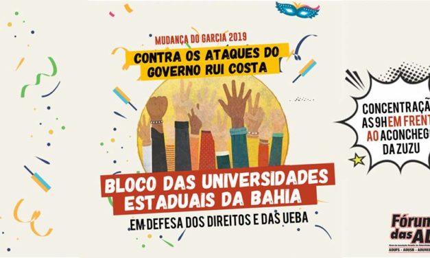 MUDANÇA DO GARCIA – FÓRUM DAS ADS CONVOCA CATEGORIA PARA PARTICIPAR DO BLOCO DAS UNIVERSIDADES ESTADUAIS