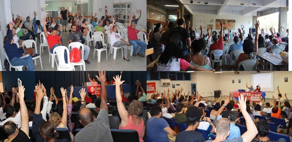Professores das quatro Universidades Estaduais da Bahia aprovam Estado de Greve