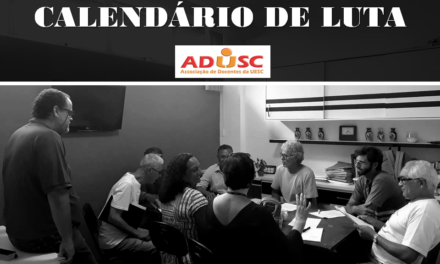 UESC: Comando de Greve divulga calendário de mobilização