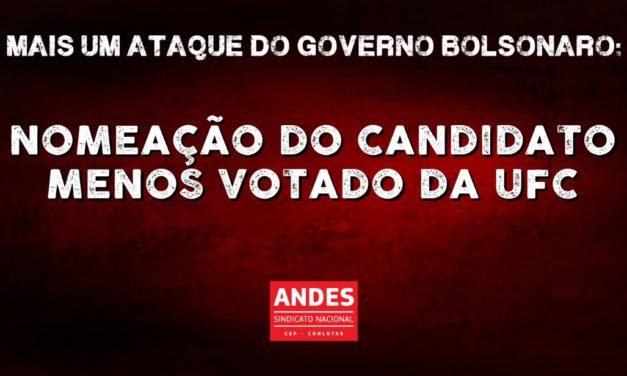 Bolsonaro fere a autonomia universitária e nomeia candidato menos votado