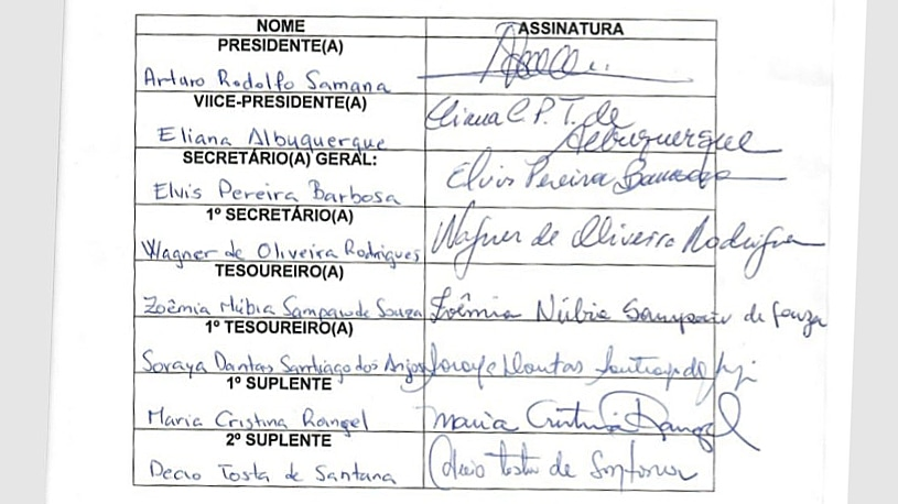 HOMOLOGAÇÃO DEFINE PRÓXIMA CHAPA inscrita para a eleição DA ADUSC