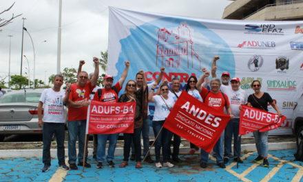 Servidores Estaduais Pressionam governo contra Reforma da Previdência de Rui