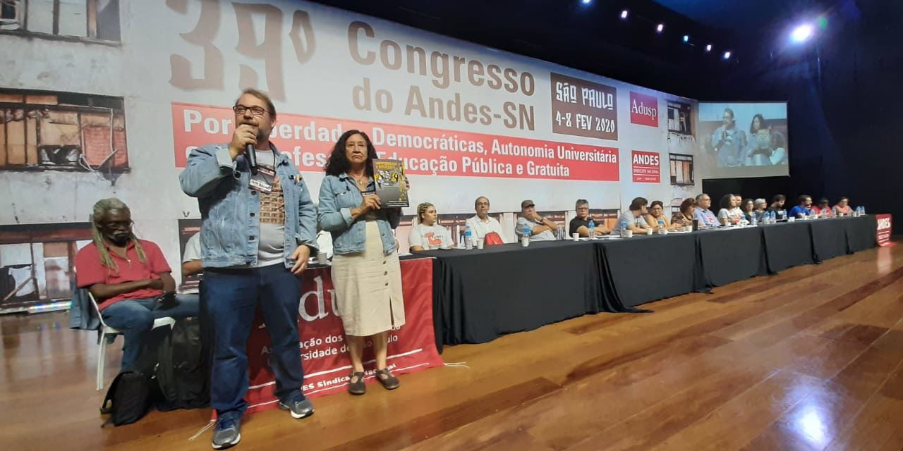ADUSC PRESENTE NO 39º CONGRESSO DO ANDES