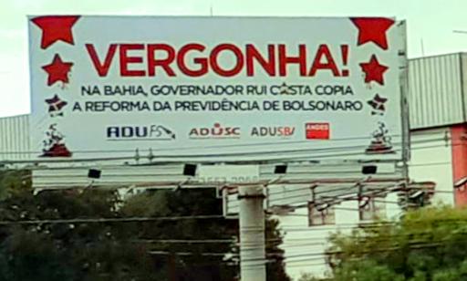 Adusc, Adusb e Adufs denunciam em Brasília a Reforma da Previdência da Bahia