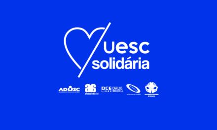 UESC Solidária recebe doações do MST