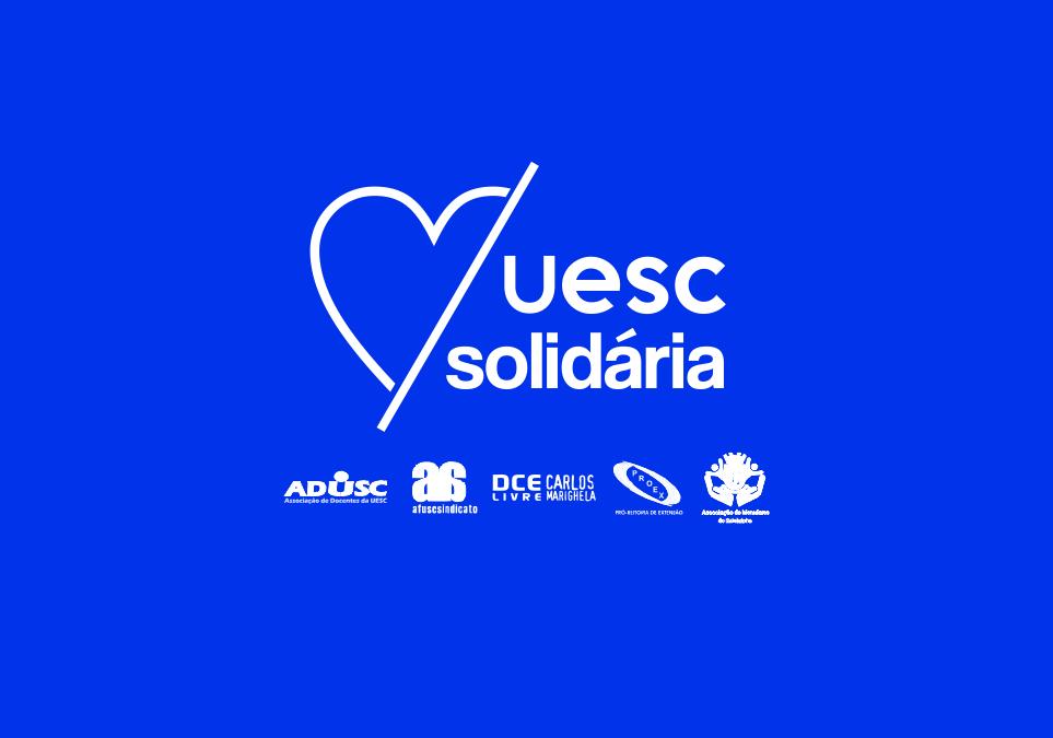 Doações contemplam terceirizados da UESC