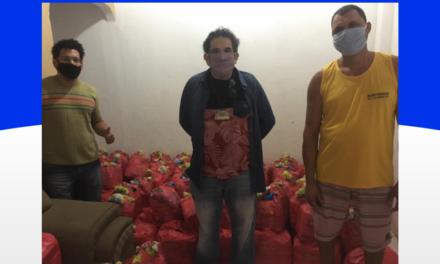 Campanha UESC Solidária entrega mais cestas básicas
