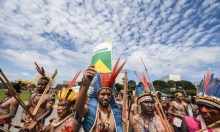É preciso dizer não ao parecer antidemarcação de terras indígenas. Basta de genocídio aos povos indígenas!