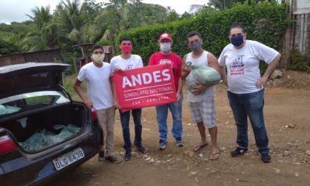 ADUSC participa de entrega de cestas básicas em Itabuna