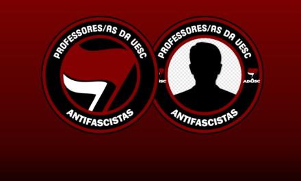 Coloque a moldura antifascista no seu Facebook