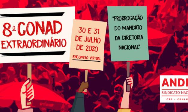 ANDES-SN convoca Conad Extraordinário para debater prorrogação do mandato da diretoria