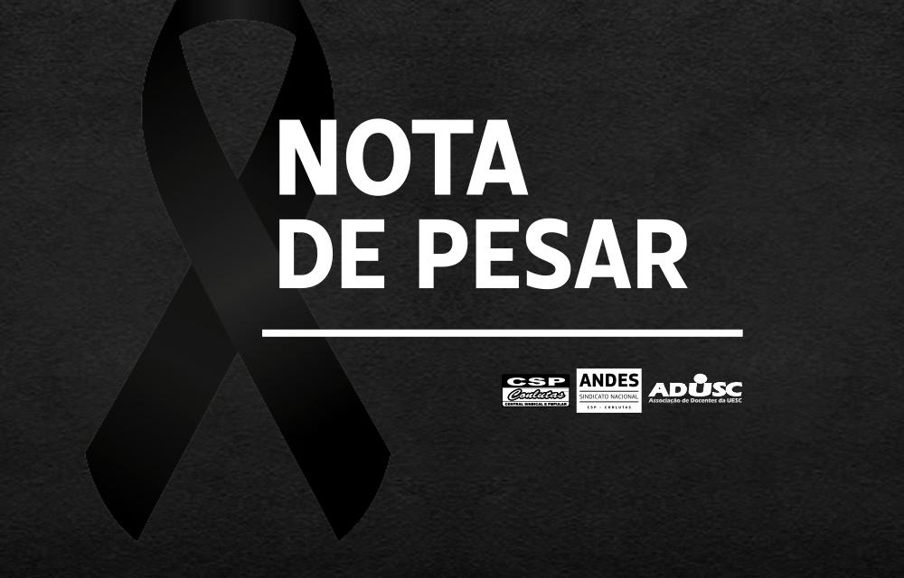Nota de pesar: Miriam Moraes Caldas