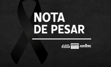 Nota de Pesar: Henrique Campos Simões