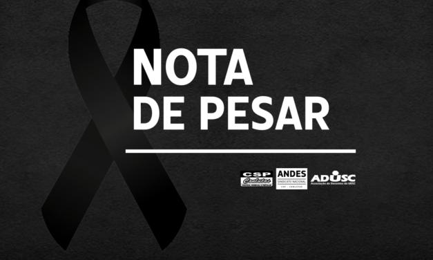 Nota de Pesar: Givaldo Alves Sobrinho