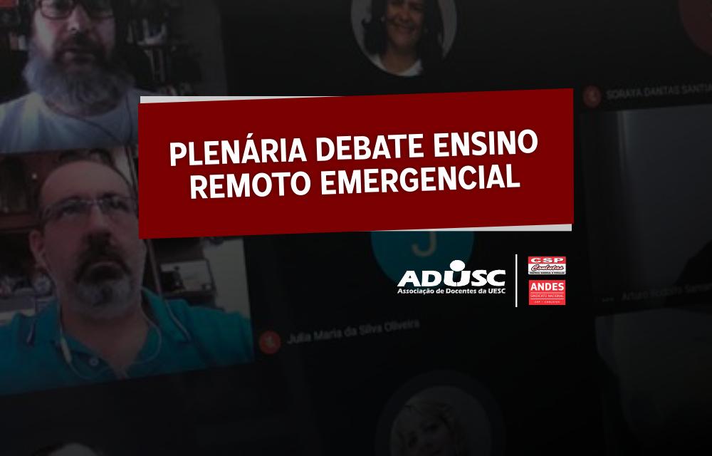 Plenária aponta necessidade de um protocolo de retorno; Documento será elaborado a partir desta terça (18)