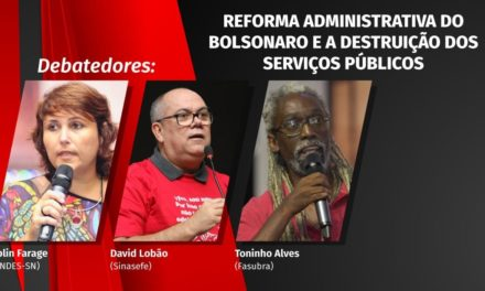 Live do ANDES-SN vai discutir a reforma administrativa