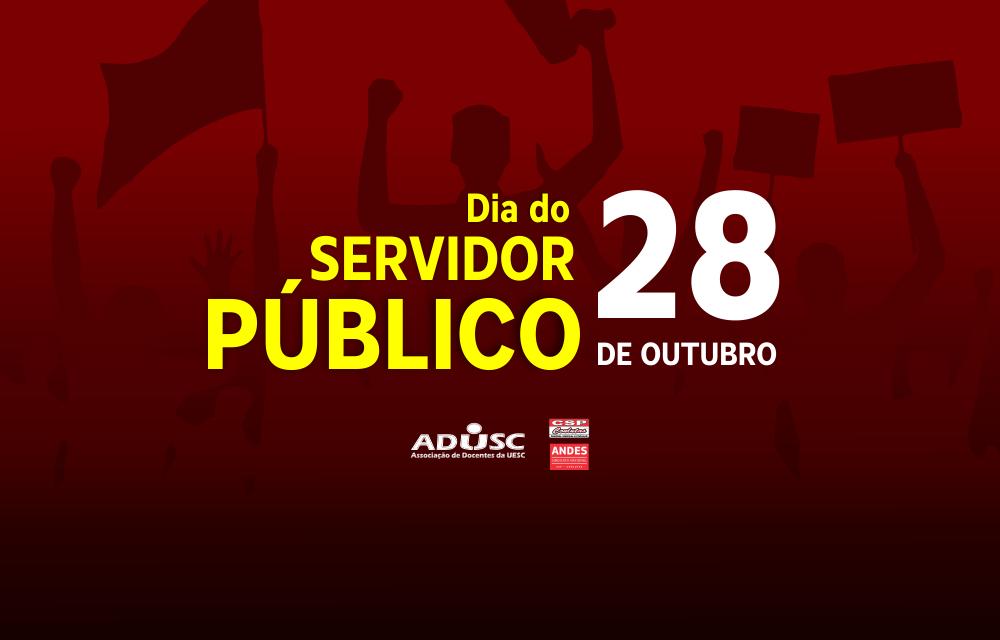 Parabéns, Servidor Público!