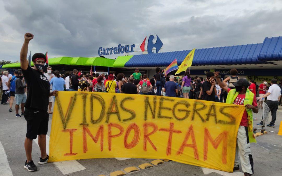 Protestos contra morte de João Alberto marcam final de semana em várias cidades