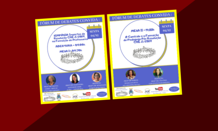 Fórum de Debates realiza Simpósio sobre a Formação de Professores