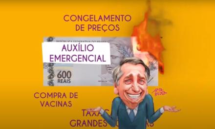 Diga não ao fim do auxílio emergencial e à Reforma Administrativa!