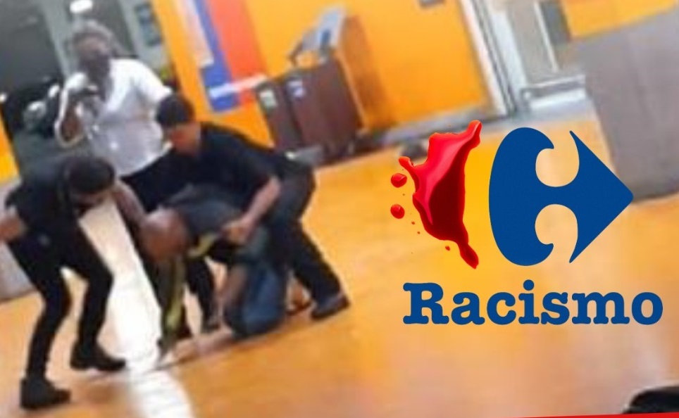 Homem negro morre após ser espancado por seguranças no Carrefour (RS). Basta de racismo!