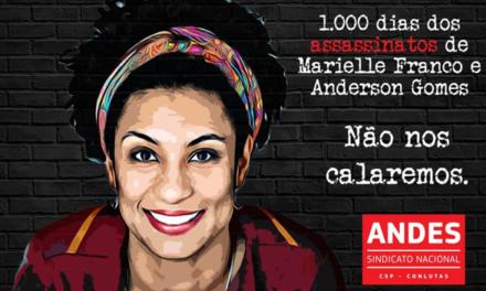 Execução de Marielle Franco e Anderson completa mil dias sem respostas