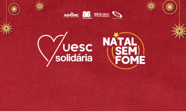 UESC Solidária por um Natal Sem Fome