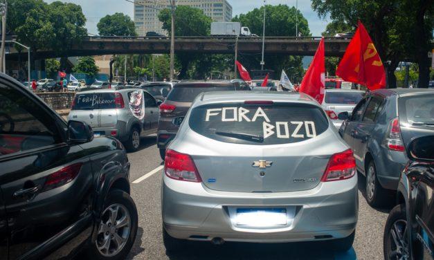 Carreatas impulsionam a luta pelo Fora Bolsonaro, por vacinação para todos e apontam novas mobilizações
