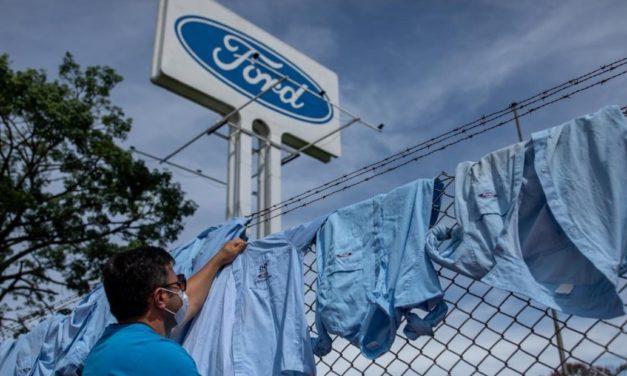 Centrais sindicais convocam ato contra o fechamento da Ford no Brasil