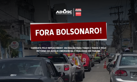 Carreata pelo Fora Bolsonaro é realizada em Itabuna