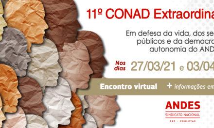 ANDES-SN convoca 11º Conad extraordinário
