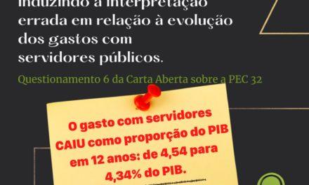 Governo distorce dados sobre gastos com servidores públicos