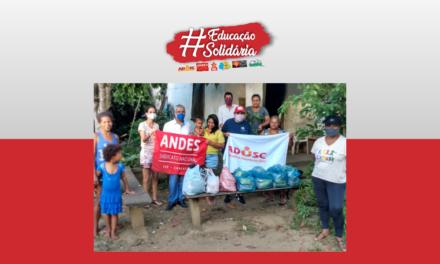 Campanha Educação Solidária distribui cestas em Itabuna
