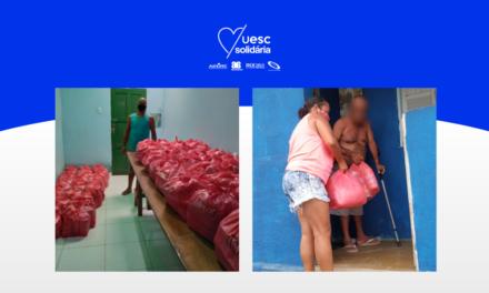 Campanha UESC Solidária distribui cestas de fevereiro