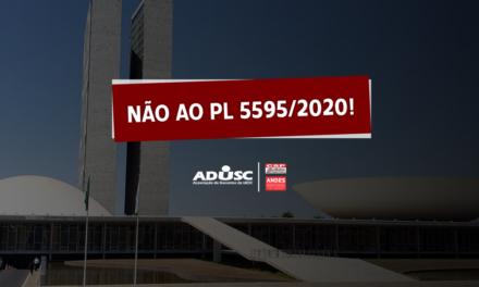 Nota do ANDES-SN sobre o PL 5595/2020; pressione os parlamentares contra este projeto