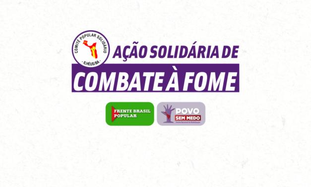Drive-thru solidário arrecada 1,2t de alimentos
