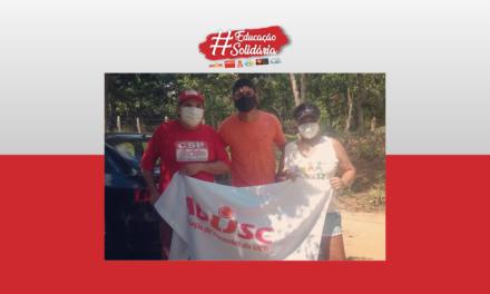 Campanha Educação Solidária distribui cestas básicas na zona rural de Itabuna