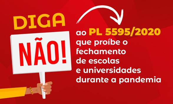 Câmara aprova urgência para PL que proíbe fechamento de escolas e universidades durante pandemia