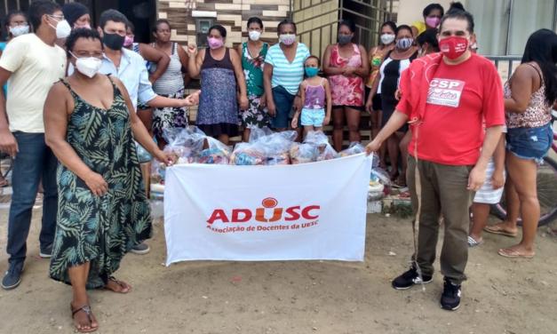 Doações da Campanha Prato Cheio beneficiam 40 famílias em Itabuna