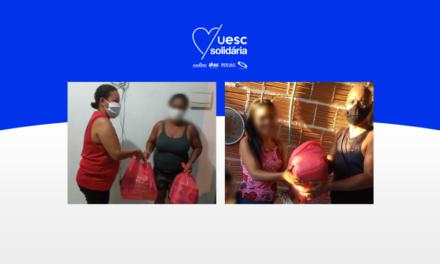 UESC Solidária realiza entrega das cestas básicas de maio