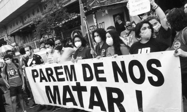 13 de Maio: Basta de genocídio do povo negro!