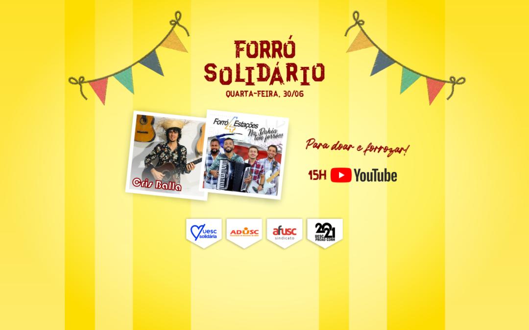 Forró Solidário vai animar São João dos/as servidores/as da UESC