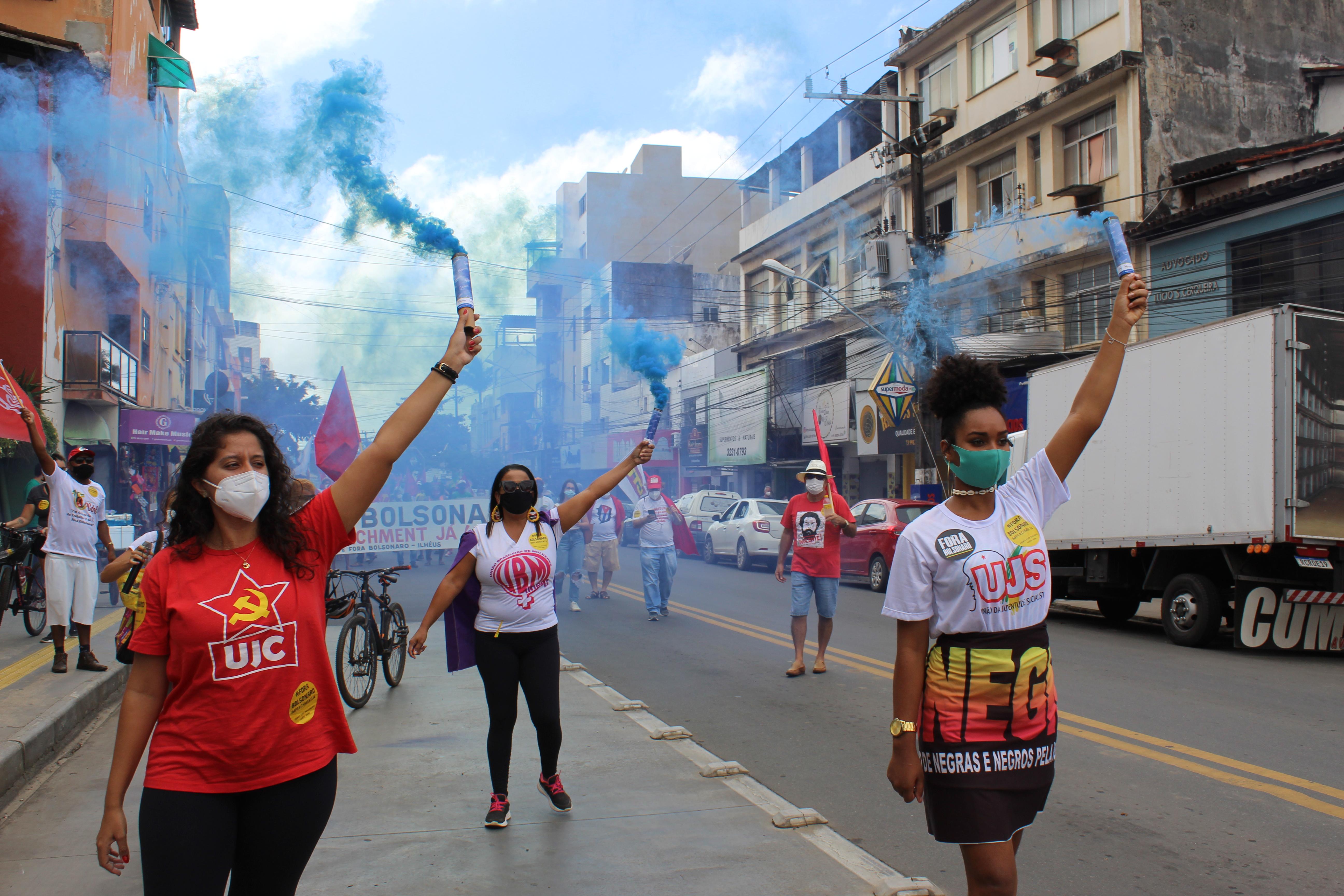24J: Ato Fora Bolsonaro em Ilhéus
