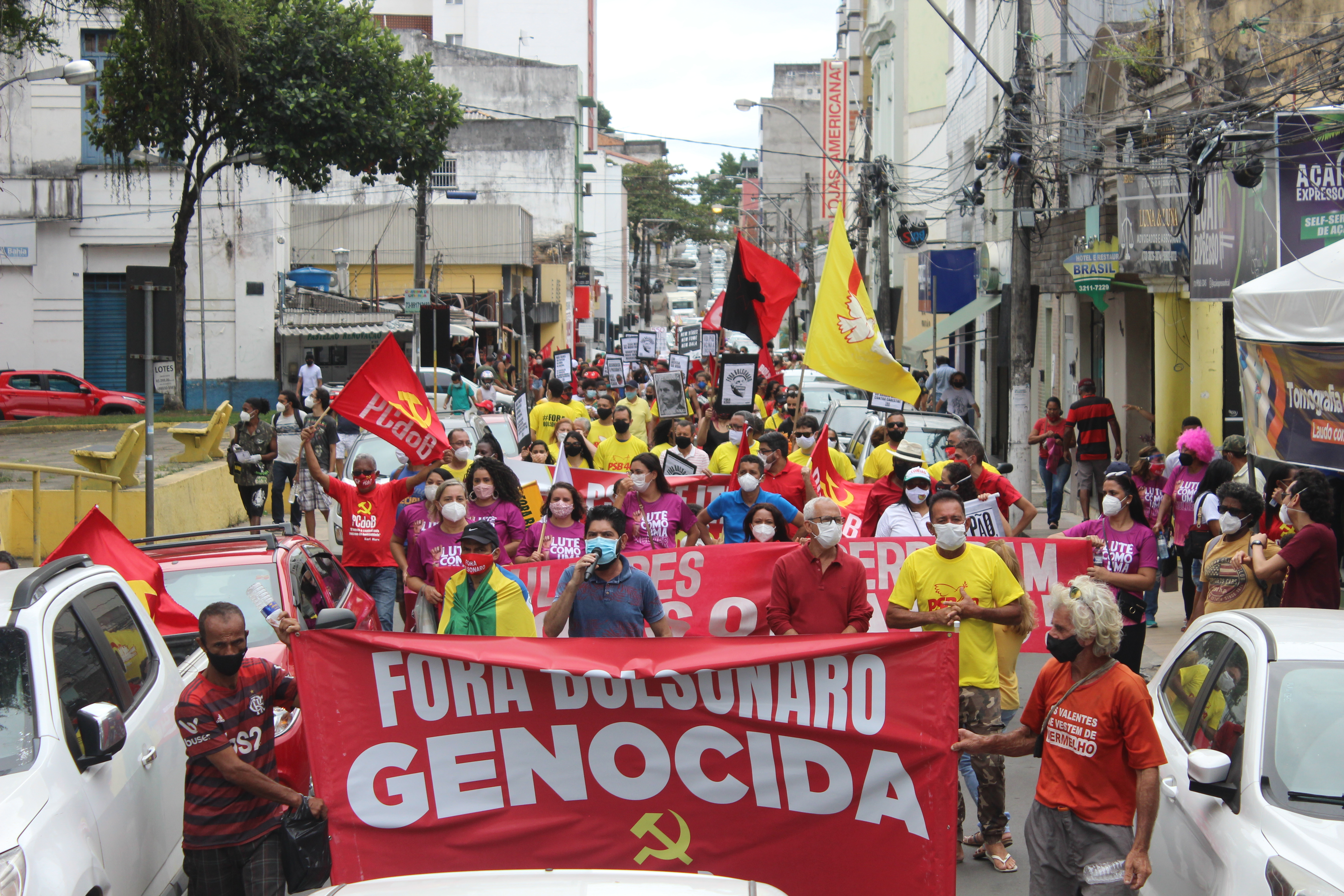 24J: Ato Fora Bolsonaro em Itabuna
