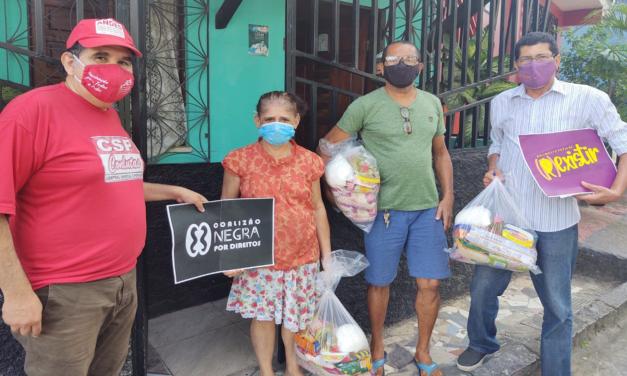 Famílias de Itabuna são beneficiadas com doações da Campanha Prato Cheio