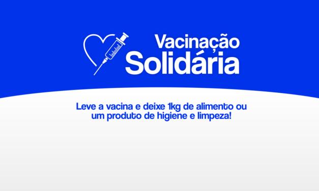 Vacinação Solidária: Aplicação da segunda dose para segundo grupo de servidores da UESC