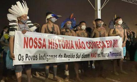 Indígenas de 117 povos iniciam novo acampamento em Brasília (DF)